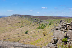 Derbyshire Peaks Stanage Edge England Royalty Free Stock Images