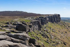 Derbyshire Peaks Stanage Edge England Royalty Free Stock Photos