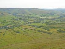 Derbyshire-Spitzen-Bezirk Stockfotos