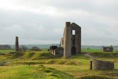 derbyshire sroki kopalni sheldon Fotografia Royalty Free