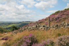 Derbyshire-Täler Stockfoto