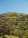 Derbyshire-Täler Stockfotografie