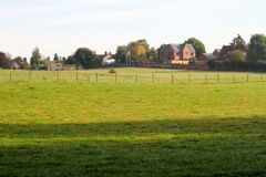Derbyshire Uprawiać ziemię Obrazy Royalty Free