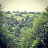 Derbyshire wieś Zdjęcia Stock