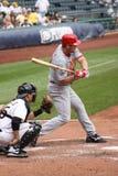 Derde baseman van de Rood van Cincinnati, Scott Rolen Stock Foto