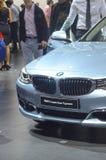 Derde Verkeer van de de Salonluxe van Reeksbmw Gran Turismo Moskou het Internationale Automobiele Royalty-vrije Stock Afbeelding