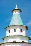 Derde watchtower van het Klooster van Verrijzenis Nieuwe Jeruzalem royalty-vrije stock foto