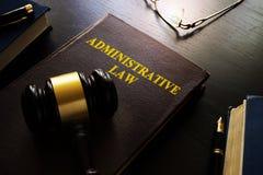 derecho administrativo fotografía de archivo libre de regalías