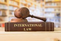 Derecho internacional foto de archivo libre de regalías
