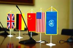 Derecho internacional y justicia foto de archivo libre de regalías
