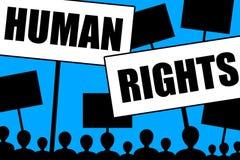 Derechos humanos Imagen de archivo libre de regalías