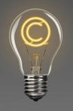 Derechos reservados de la creatividad Imagen de archivo