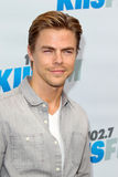 Derek Hough arrives at the  Royalty Free Stock Photo