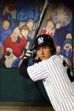 Derek Jeter στην κυρία Tussauds της Νέας Υόρκης στοκ φωτογραφία με δικαίωμα ελεύθερης χρήσης