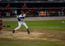 Derek Jeter ALCS 2009 C Stock Afbeelding