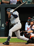 Derek Jeter, de Yankees van New York Royalty-vrije Stock Foto's