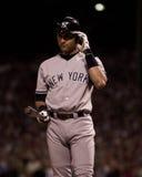 Derek Jeter, de Yankees van New York Royalty-vrije Stock Afbeeldingen