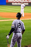 Derek Jeter on Deck Stock Photo
