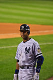 Derek Jeter on Deck Stock Image