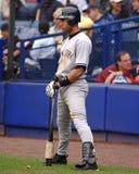 Derek Jeter on deck. Stock Photo