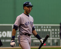 Derek Jeter, ianques de New York Fotos de Stock Royalty Free