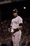 Derek Jeter, ianques de New York Imagem de Stock Royalty Free