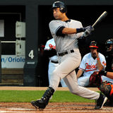 Derek Jeter, New York Yankees. Derek Jeter at Camden Yards, Baltimore, June 10, 2010 Stock Photography