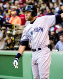Derek Jeter, New York Yankees. Stock Photo