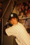 Derek Jeter Wax Figure Royalty Free Stock Images