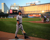 Derek Jeter, Yankees de New York Photo libre de droits