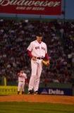 Derek Lowe, Boston Red Sox Lizenzfreies Stockfoto