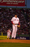 Derek Lowe, Boston Red Sox. Royalty Free Stock Photo