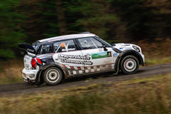 Derek McGeehan - Mini WRC Royalty Free Stock Images