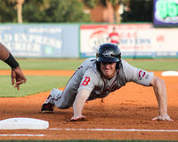 Derek Miller,  Greenville Drive Royalty Free Stock Photography