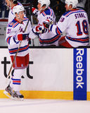 Derek Stepan and Marc Staal Royalty Free Stock Image