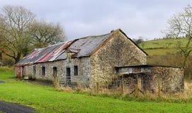 Derelic-Bauernhof Stockfoto
