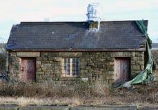 derelict здания стоковые фотографии rf