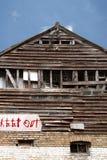 derelict здания Стоковое фото RF