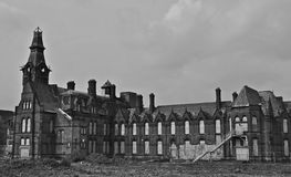 Derelict Asylum Royalty Free Stock Images