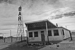 Derelict Bar on old Route 66 Stock Image