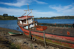 Derelict Boat Royalty Free Stock Image