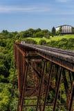Derelict Bridge - Abandoned Railroad in Kentucky royalty free stock photos