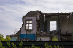 Derelict Building Royalty Free Stock Photo
