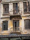 Derelict Building, Athens Stock Photos