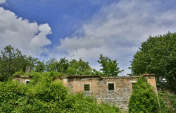 Derelict Building in Jelovice Royalty Free Stock Photos