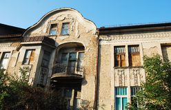 Derelict Building in Sarajevo Royalty Free Stock Image