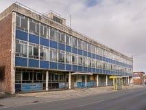 Derelict building in St Helens Merseyside