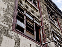 Derelict builing Stock Photo