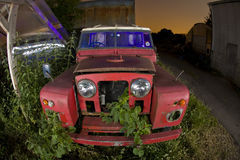 Derelict car Stock Images