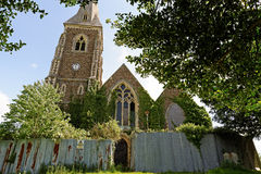 Derelict Church in the UK Royalty Free Stock Images